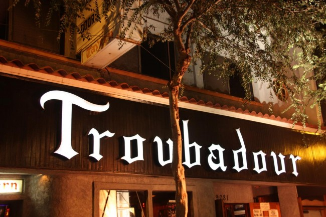 The Troubadour © Michael Dorausch / Flickr