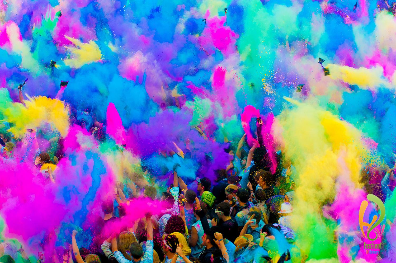 Фестиваль цвета