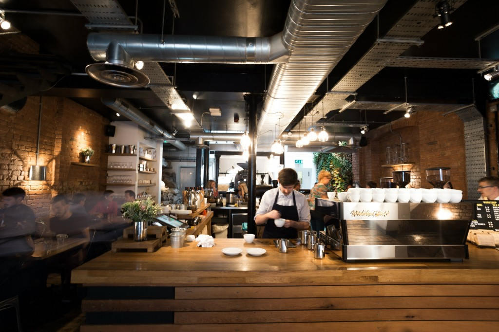 The Clerkenwell Location   Courtesy of Workshop Coffee