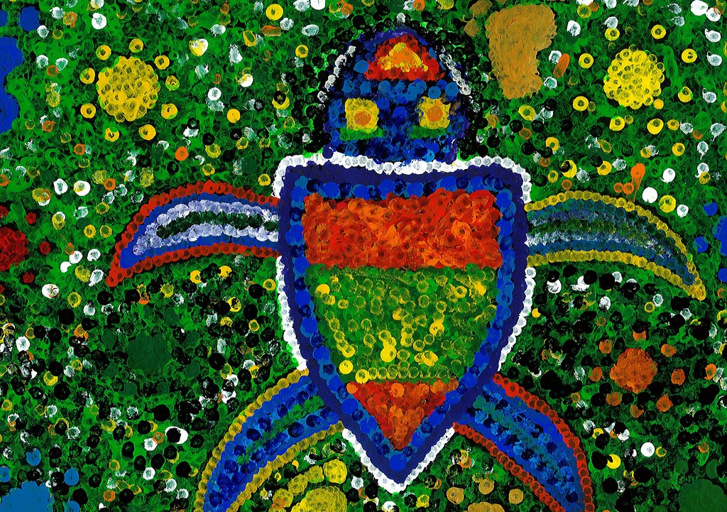 Aboriginal Art   © Peter Pikous/Flickr