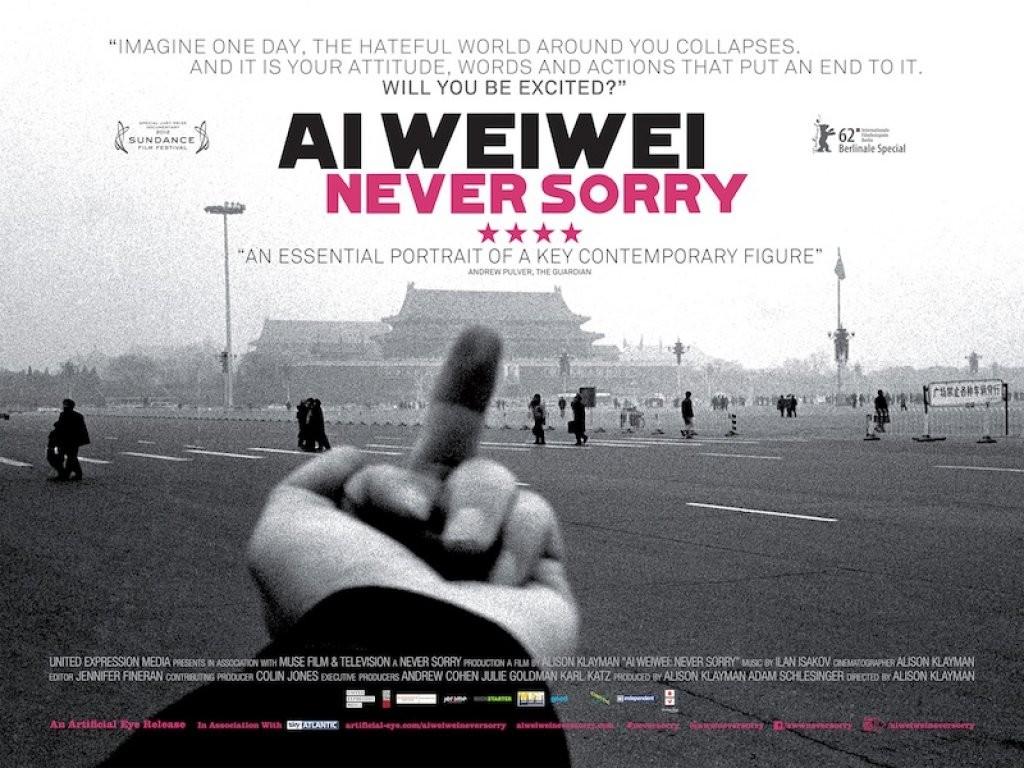 Ai Weiwei Never Sorry  Courtesy of fact.co.uk