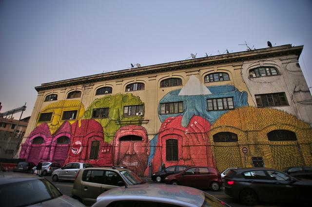 Blu's Graffiti | © Emiliano Felicissimo/Flickr