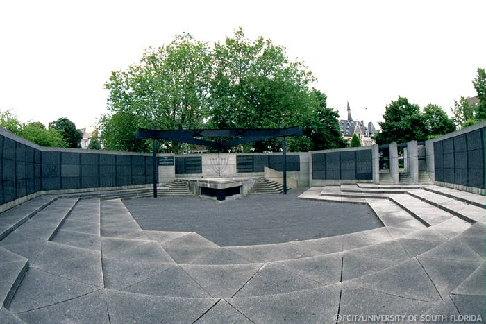 the National Monument to the Jewish Martyrs of Belgium/Courtesy of Florida Center for Instructional Technology
