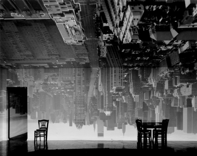 Camera Obscura. Manhattan View Looking South in Large Room. 1996 | © Abelardo Morell