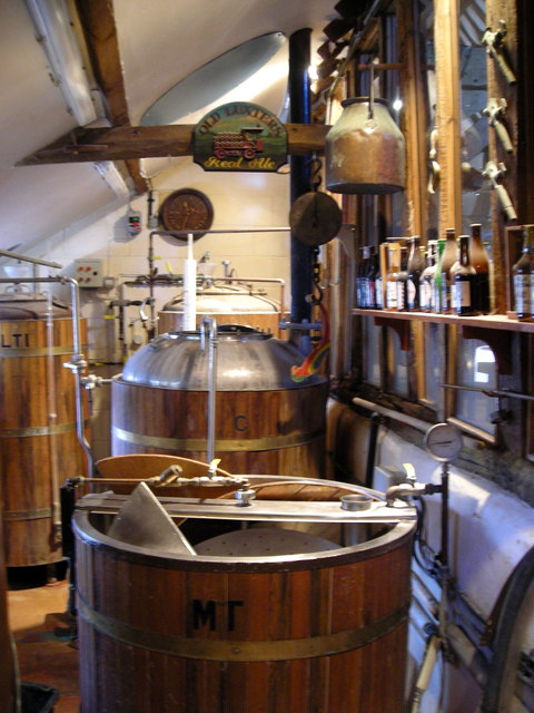 Real Ale Barrels | ©Mark Percy/geograph