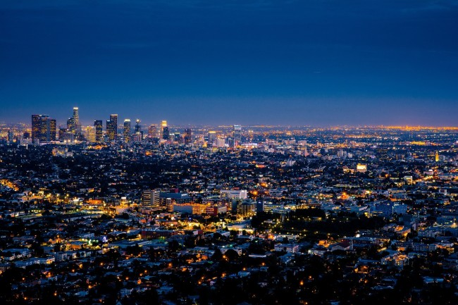 LA Skyline Courtesy of Pixabay