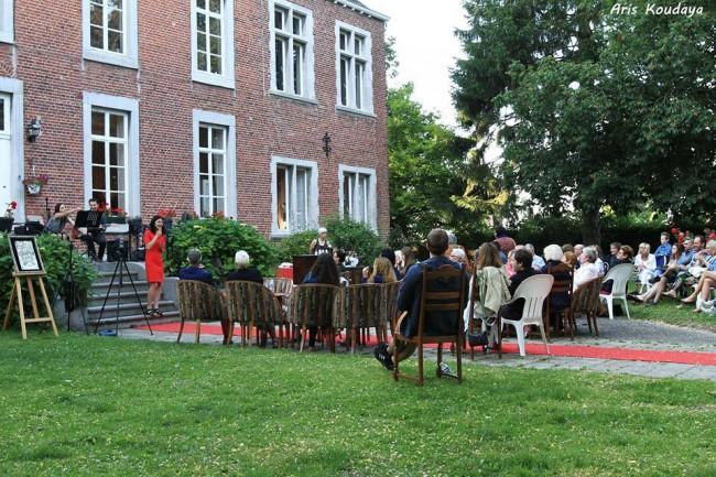 Garden Concerts at Château de l'Enclos/Courtesy Anuschka Theunissen