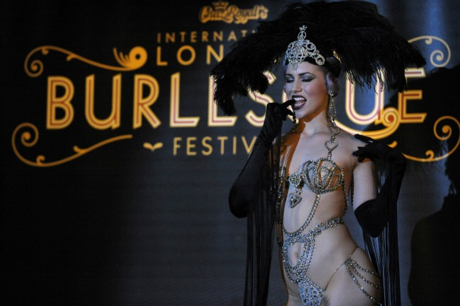 Burlesque Performance | Courtesy of London Burlesque Festival