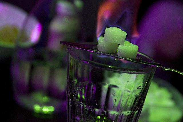 A glass of absinthe to taste at Bar Marsella   © !Koss/Flickr