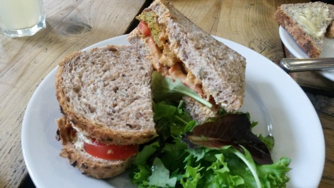 The Green Rocket Cafe comes highly recommended | Courtesy of Bristol Vegetarian