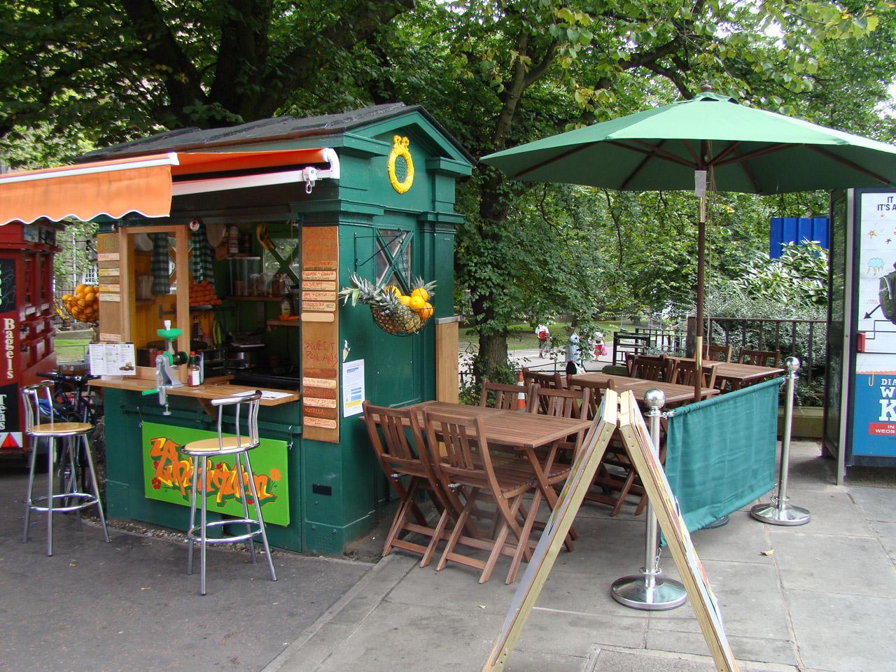Summer Kiosk
