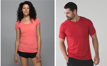 Swiftly Tech short sleeve and Metal Vent Tech short sleeve. Photo Credit: Lululemon