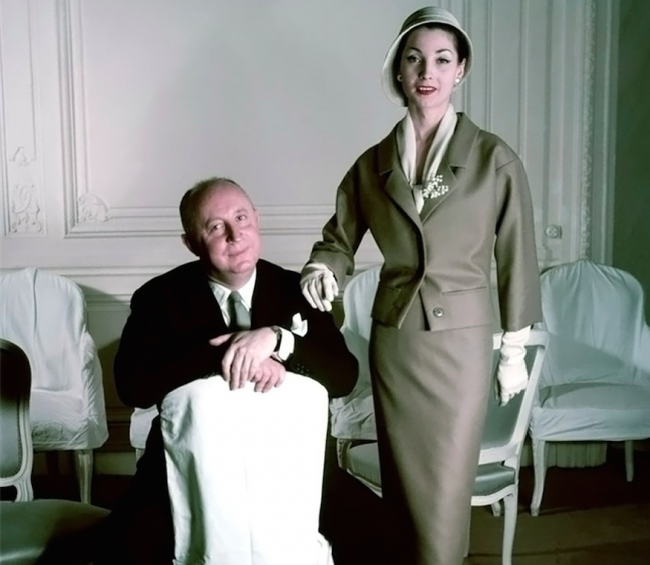 Christian Dior in 1957 | © Ŧhe ₵oincidental Ðandy/Flickr