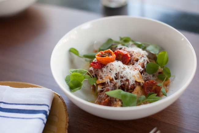 Pappardelle & Short Rib Bolognese | ©Courtesy of Wildcraft