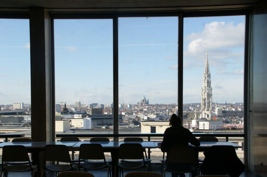 Royal Library of Belgium Café / (C) La Kusman