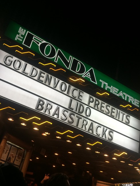 The Fonda Theatre © Katherine Myers