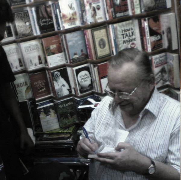 The man himself: Ruskin Bond at a book-signing | © Shashank Sawant