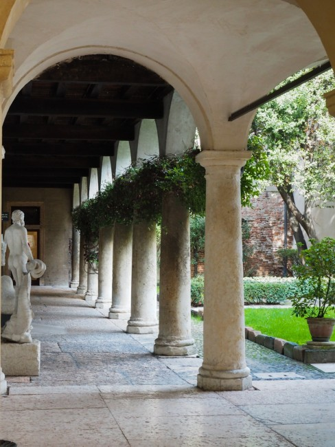 The convent's garden | Courtesy of Ester Bonadonna