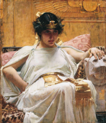 Cleopatra by Waterhouse | Courtesy of the museum