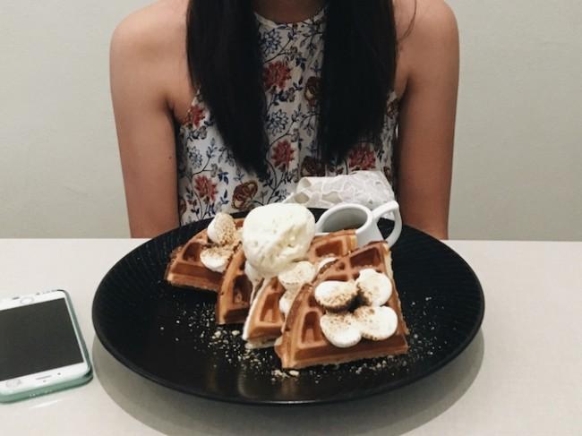 Affogato Waffles | Courtesy of Zhu Yong Qing
