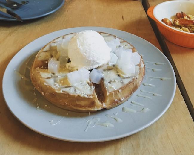 The Durian Waffle | Courtesy of Zhu Yong Qing