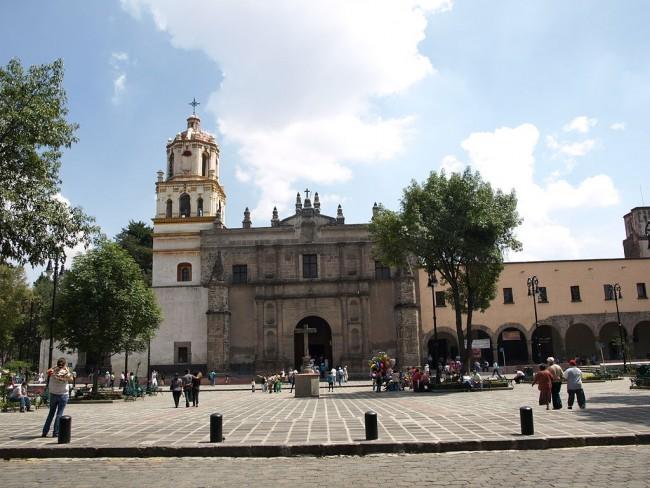 Iglesia de San Juan Bautista (Coyoacán)   ©Pablo Fossas/WikiCommons