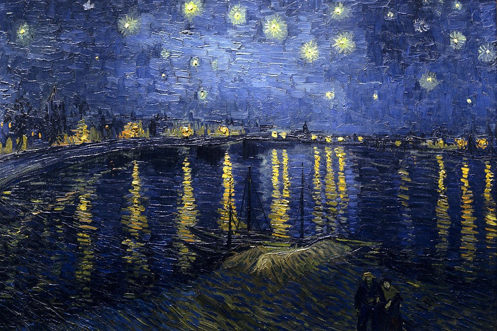 Starry Night Over the Rhone by Vincent Van Gogh | © WikiCommons