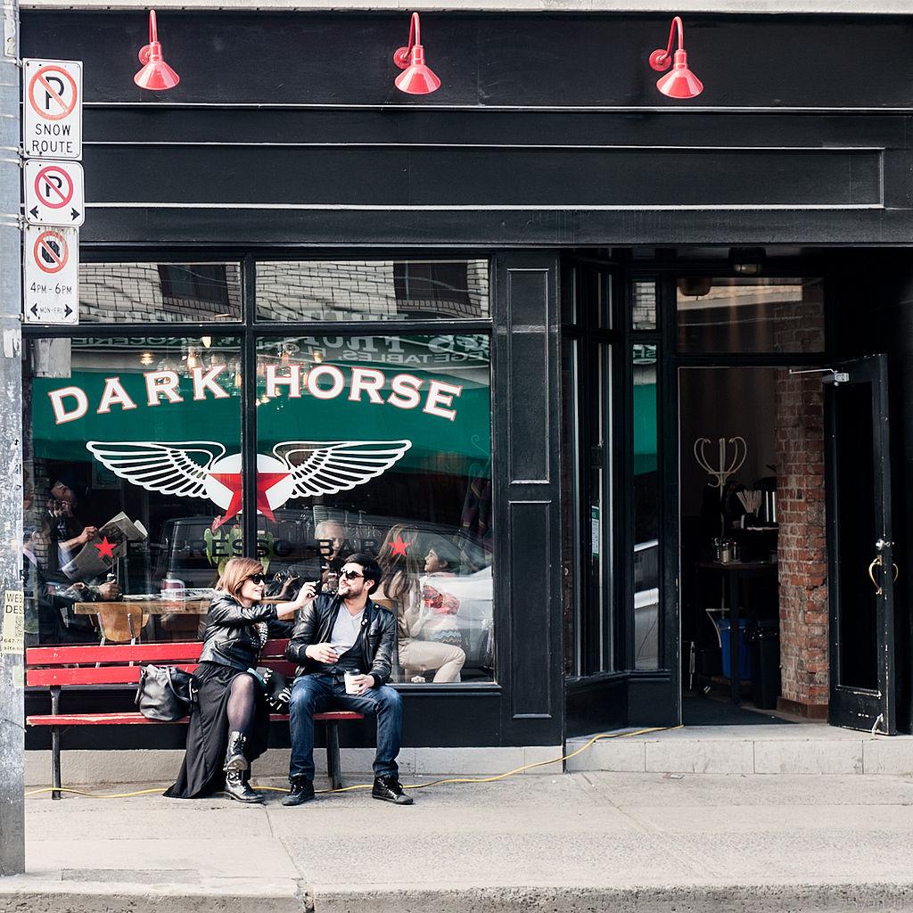 Caffeine Dispenser, Dark Horse Espresso Bar | © Ryan Tir / WikiCommons
