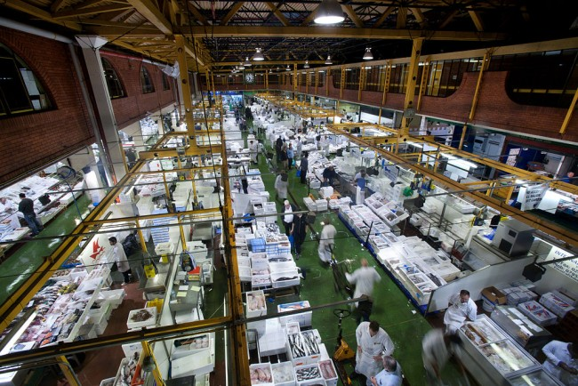 London Billingsgate Fish Market/WikiCommons
