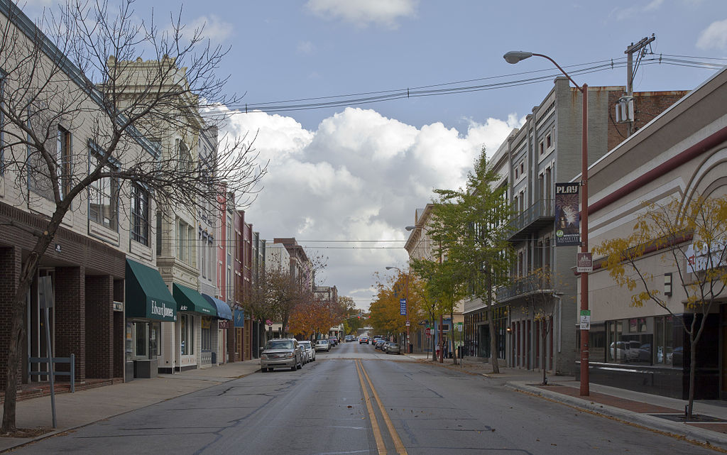Main Street in Lafayette | © Diego Delso/WikiCommons