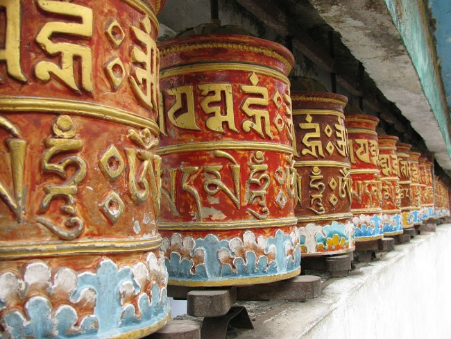Prayer Wheels at Rumtek Monastery | © Sivakumar/WikiCommons