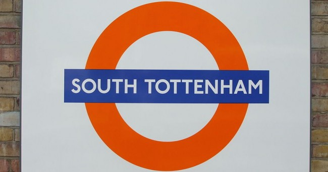 South Tottenham Station Roundel | Sunil060902/WikiComms