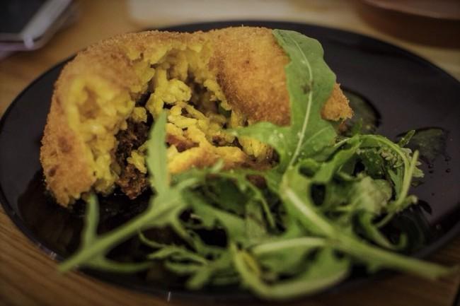 Authentic Italian food at Anima e Cuore, where the menu changes daily | Courtesy of Anima e Cuore