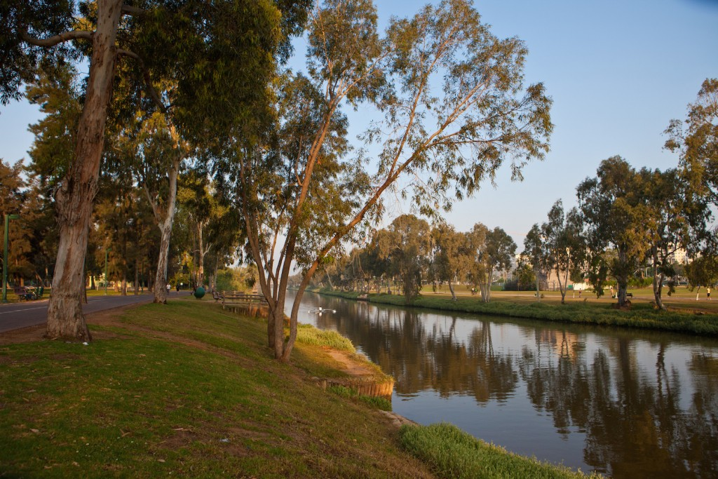 You're going to want a long book for Yarkon Park © Photo Gallery Israeli Ministry of Tourism / Flickr