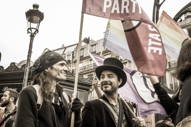 Parisians on Strike | © Marianne Fenon/Flickr