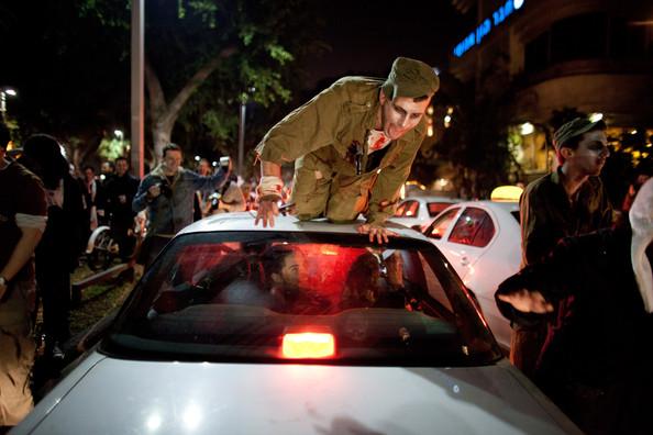 Courtesy of Zombiewalk Tel Aviv