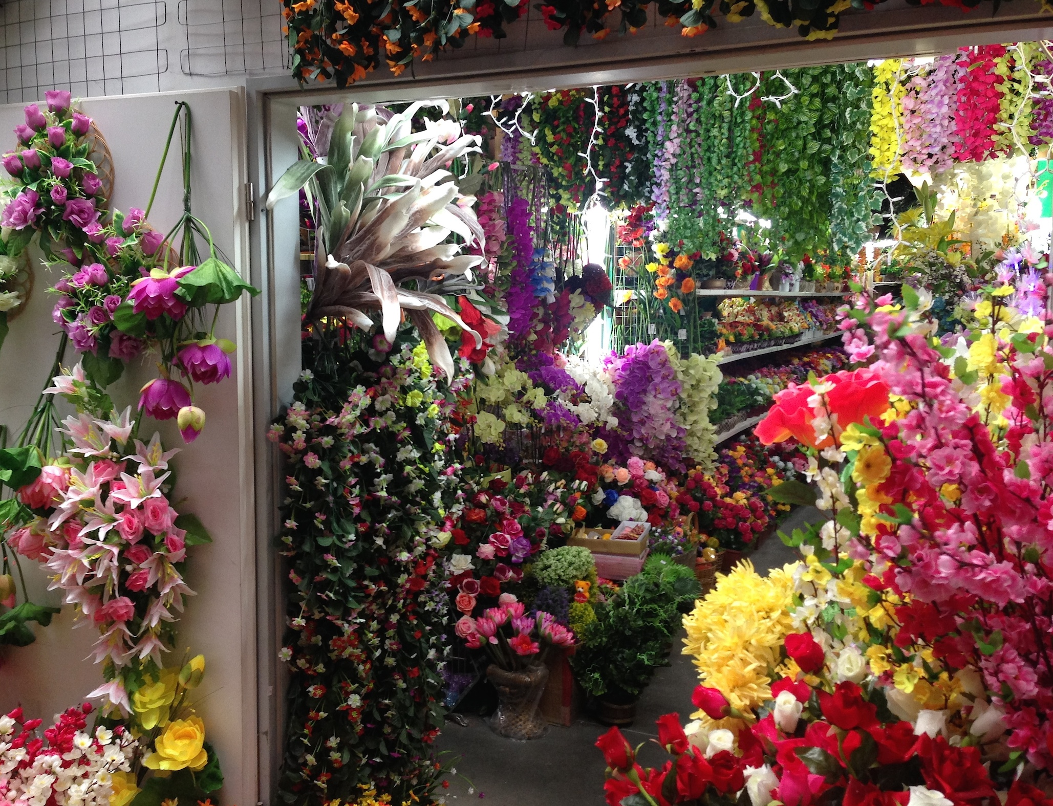 Artificial Flower Shop, Dong Xuan Center