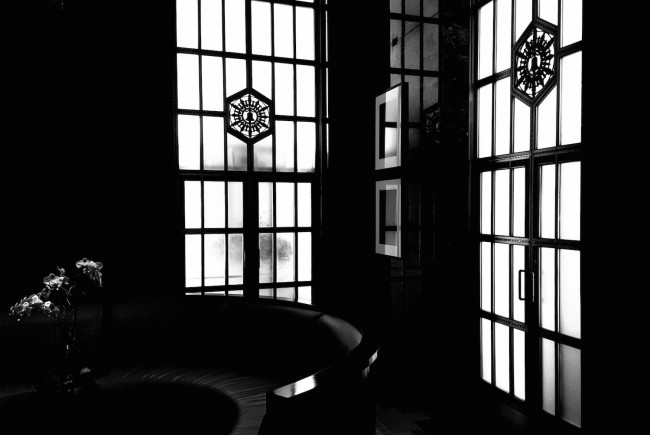 Pacific Bell window medallion © Brixton Key