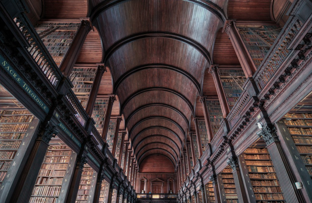 Convergence, Long Room, Trinity College © Rob Hurson / Flickr