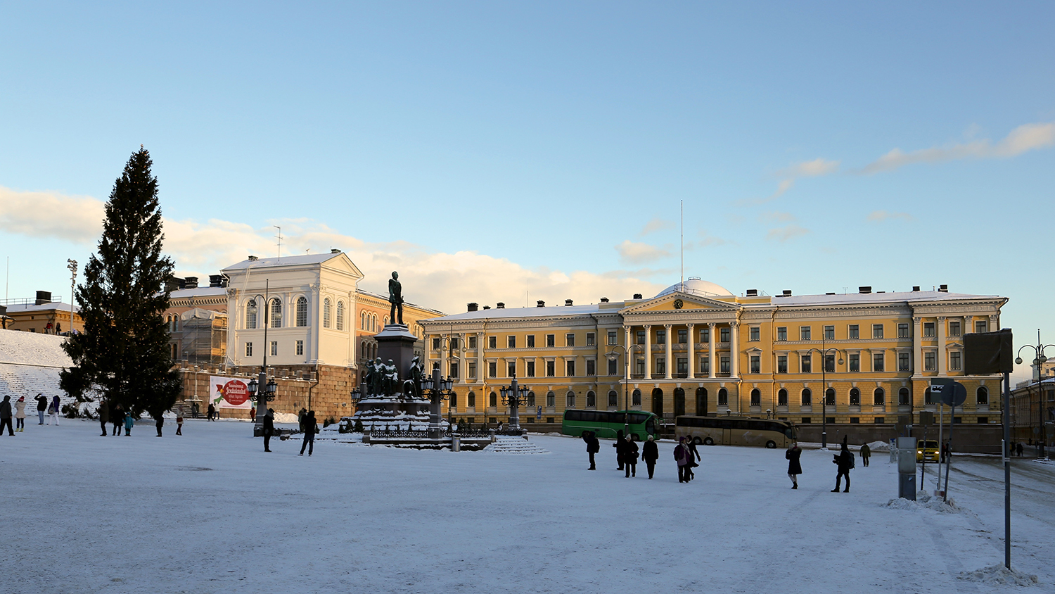 The Government Palace in Helsinki / Courtesy of Jukka
