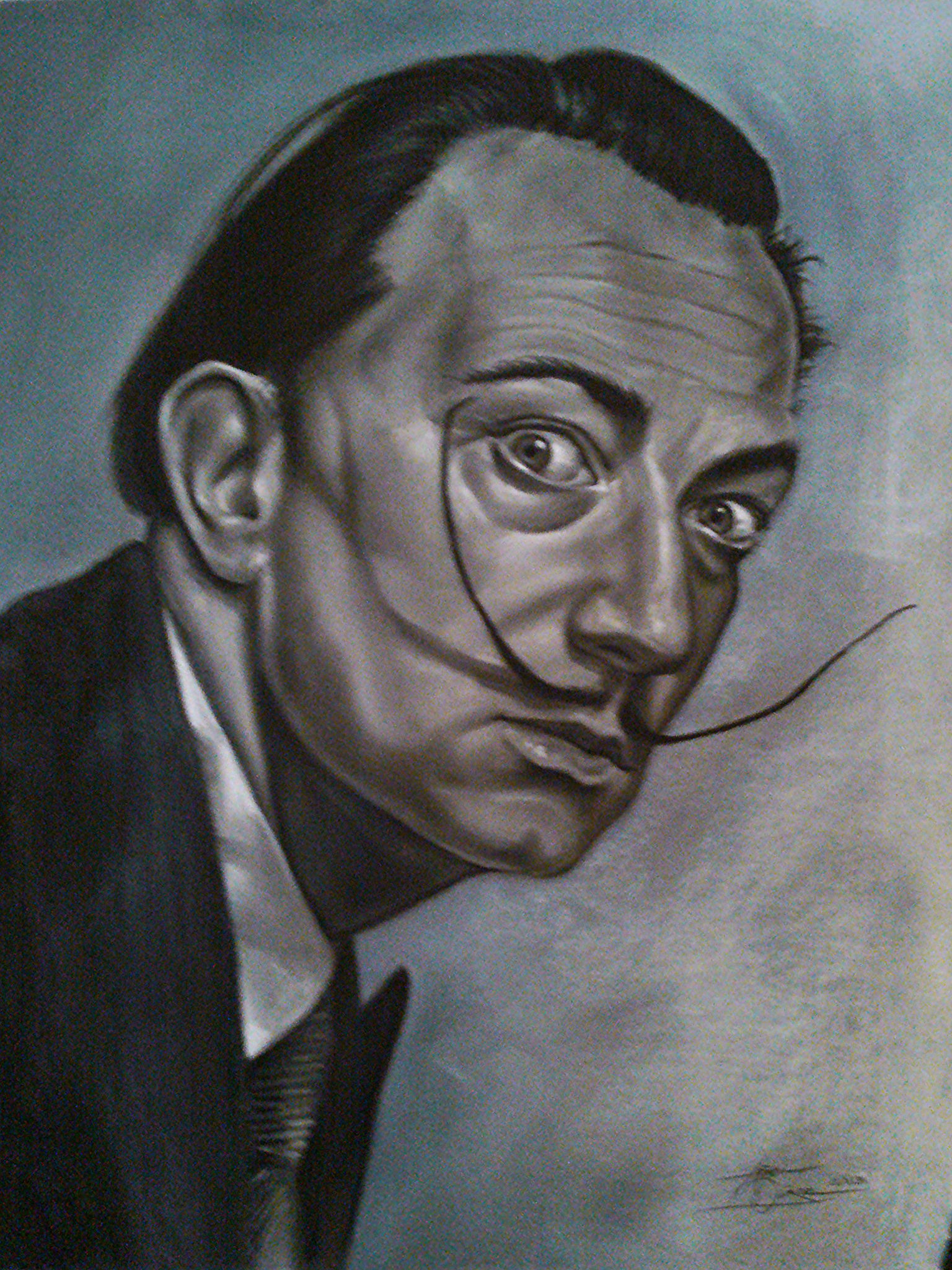 a biography of salvador dali a spanish painter Salvador dali(1904 - 1989) was a spanish painter who is best known for his surrealistic work dali's paintings are highly imaginative, always showing something.