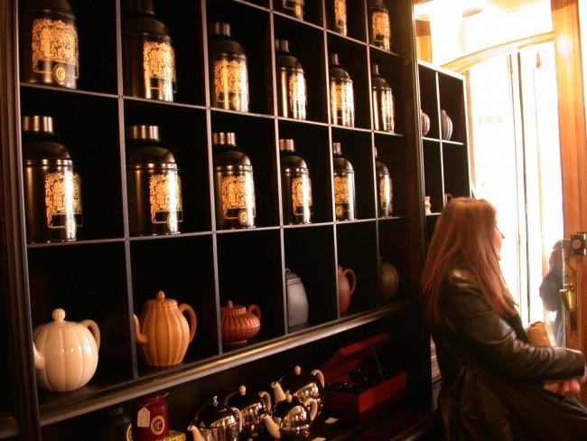 Teapots at Comptoir Florian - la Maison du Thé| Courtesy of Comptoir Florian