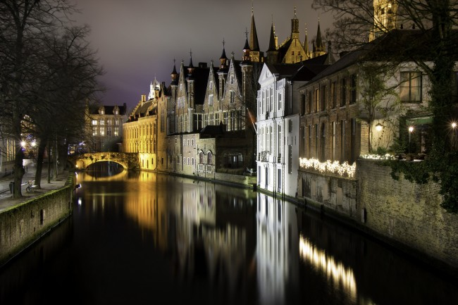 The medieval city of Bruges | © Carlos Andrés Reyes/Flickr