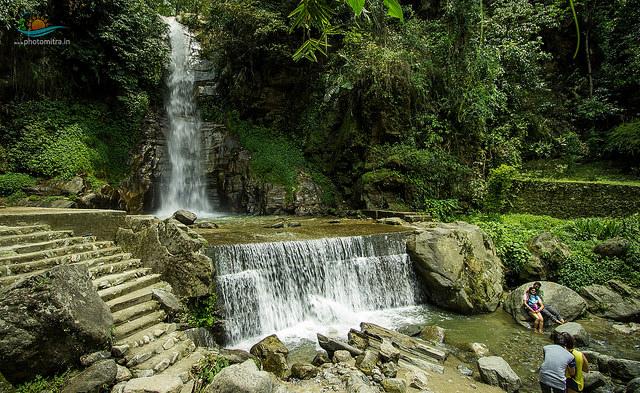Ban Jhakri Falls, Gangtok (c) Flickr/Amitra Kar