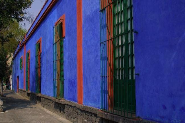 La Casa Azul   ©Lin Mei/Flickr