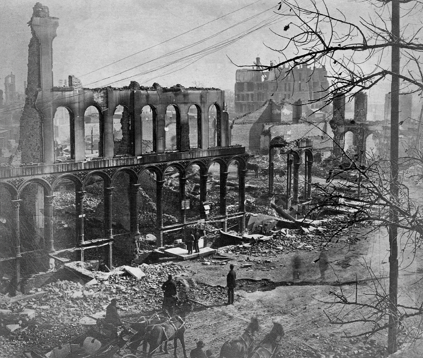 A Brief History Of Chicago S Great Fire Of 1871