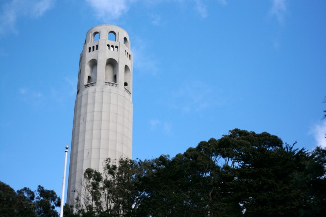 Coit Tower © Marcin Wichary/Flickr