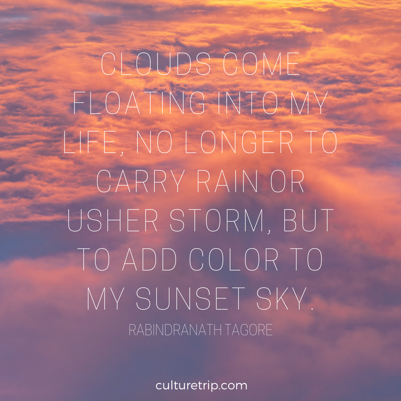 Cloud Quotes Impressive Literary Quotes On Sensational Sunsets