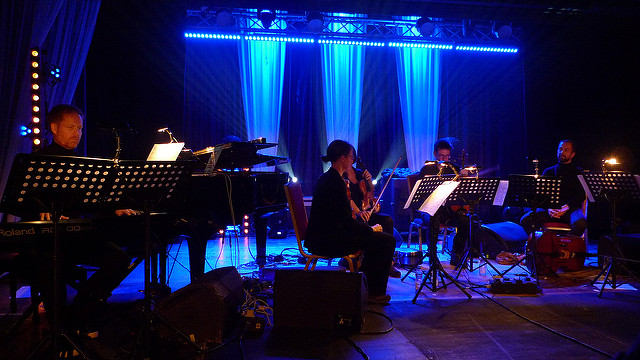 Max Richter Ensemble via Flickr