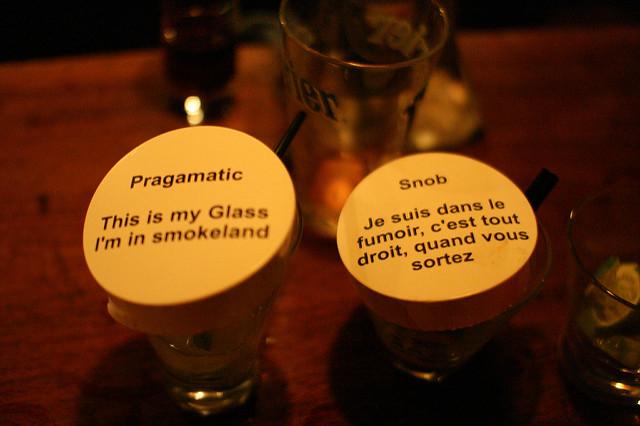 Pragamatic or snob?| © Pascal Terjan/Flickr